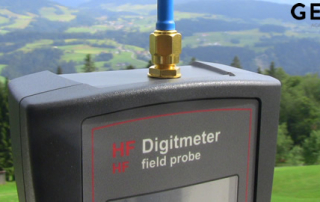 Geovital Digitmeter HF Field Probe for assessing high frequency radiation exposure in the person