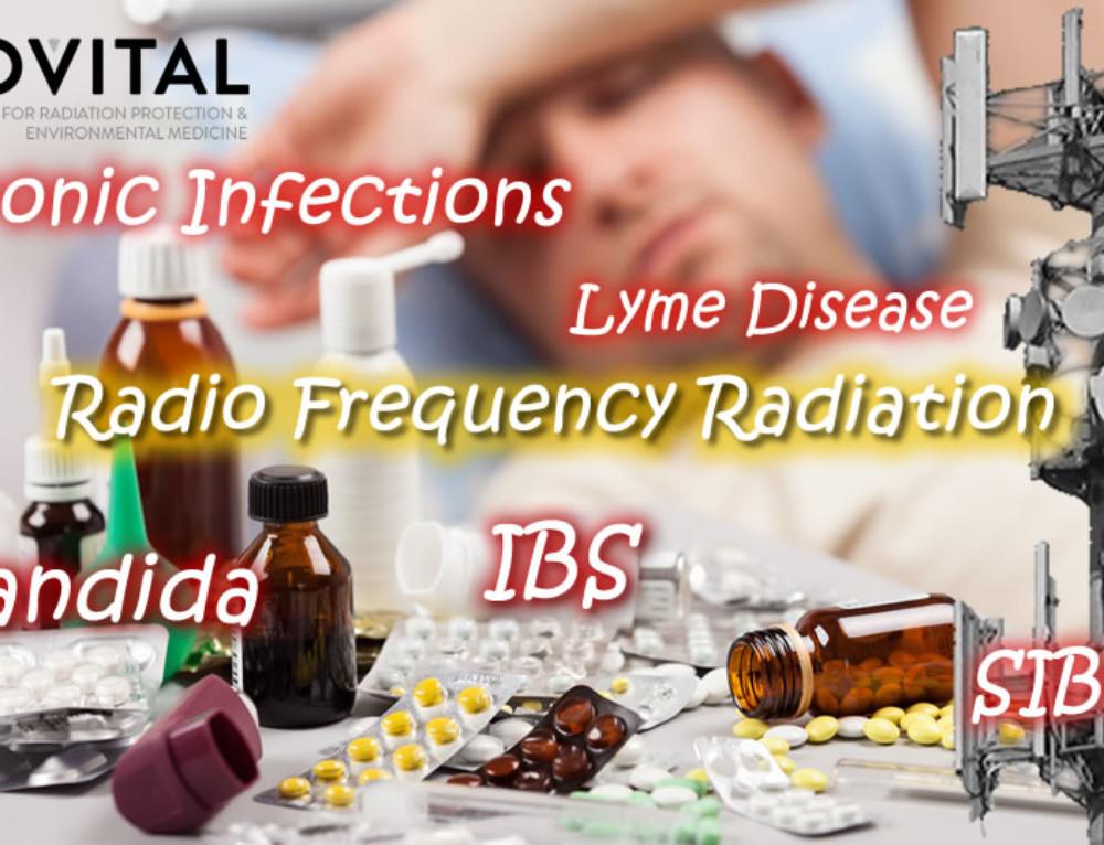 Czy technologie bezprzewodowe wykorzystujące częstotliwości radiowe przyczyniają się do przejścia infekcji w stan przewlekły np. w przypadku drożdżycy, grzybicy, zespołu SIBO, zespołu jelita drażliwego czy boreliozy?