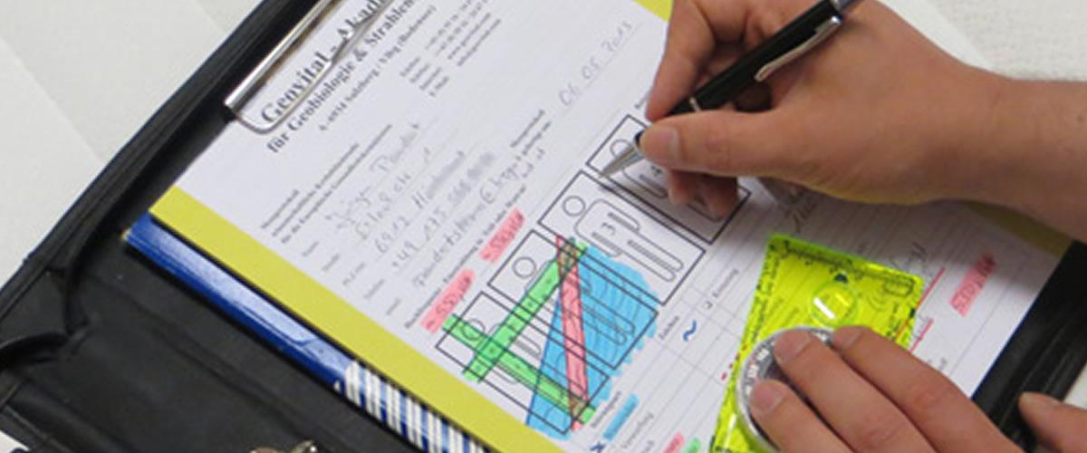 Geobiological home assessment for radiation